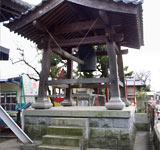 大光寺鐘つき堂(石垣・束石)
